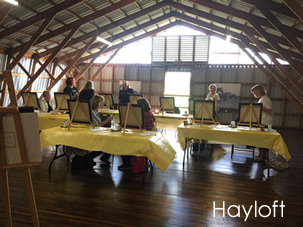 Hayloft- Event venue rental space