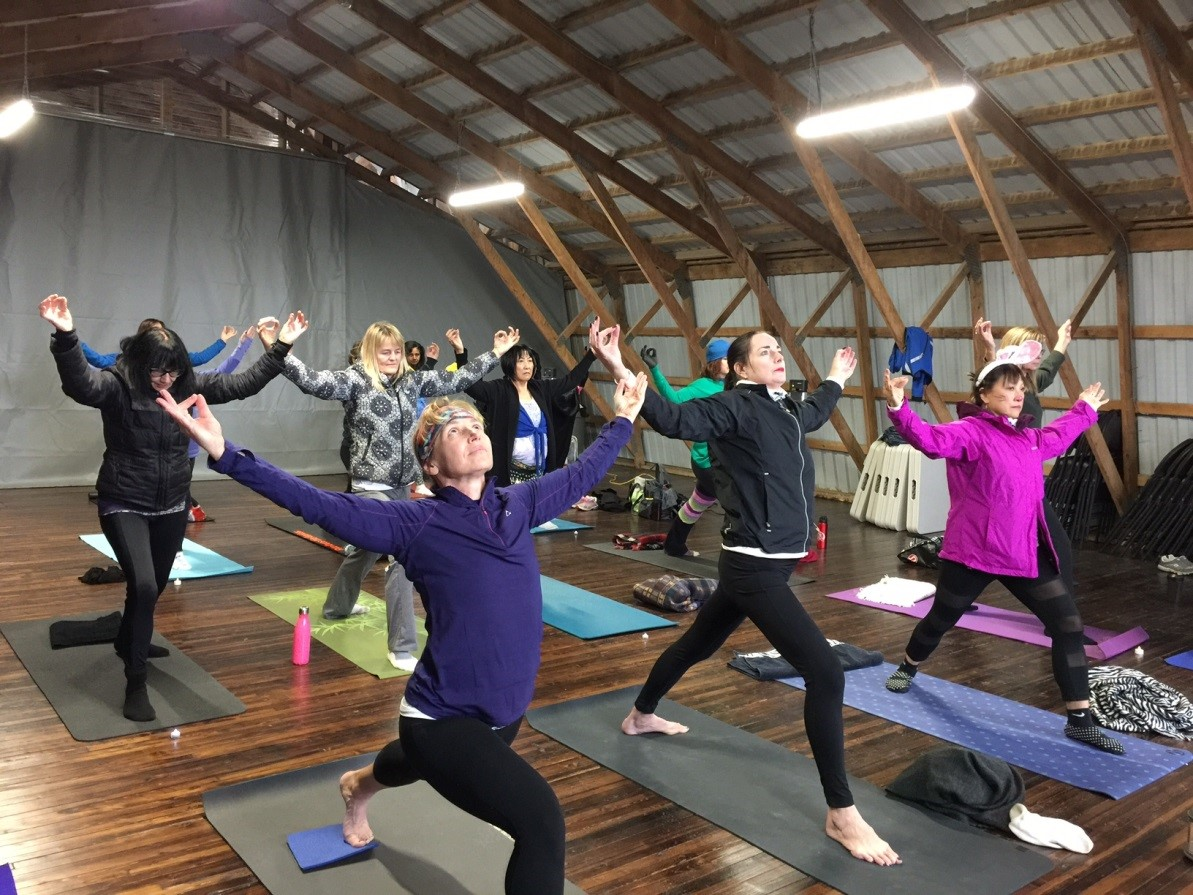 Hayloft Yoga Retreat