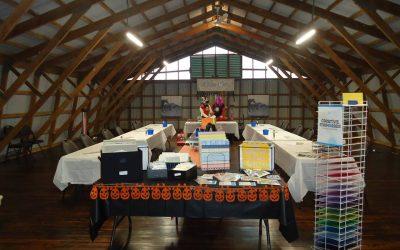 Croptoberfest Scrapbooking in the Hayloft