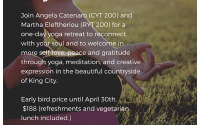 Love Your Life Yoga Retreat June 8, 2019