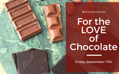 For the LOVE of Chocolate – Tasting Experience